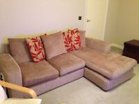 3 seater sofa with chaise long for sale