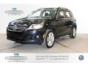 2010 Volkswagen Tiguan HIGHLINE CUIR, TOIT OUVRANT PANO, GROUPE