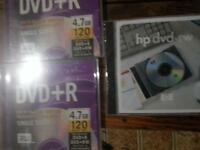 new blank dvd r and dvd rw