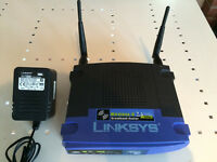 Wireless Router Linksys WRT54G version 3.1