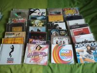 Box of cd's