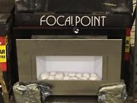 Focal Point Wall Hung Electric Fire - Brand New Boxed