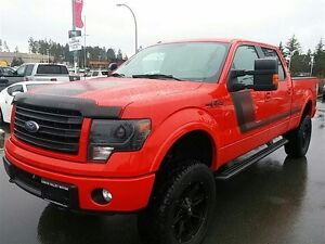 2014 Ford F-150 2014 Ford F150 FX4 leather loaded lifted onboard