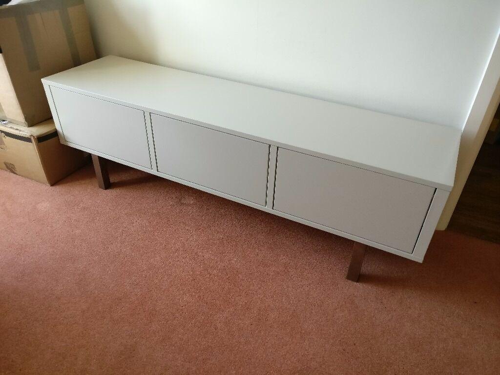 ikea stockholm tv bench in beige vgc rrp 250 in portishead bristol gumtree. Black Bedroom Furniture Sets. Home Design Ideas