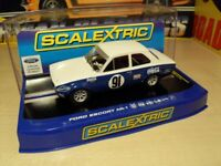 Brand New in Box. Scalextric - Ford Escort MK1.