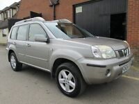 2004 NISSAN X TRAIL AUTOMATIC SAT NAV LEATHER Part exchange available / Credit & Debit card accepted
