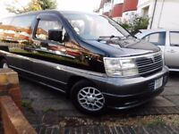 nissan elgrand mpv or campervan