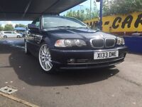Bargain BMW 330CI full leather and services history