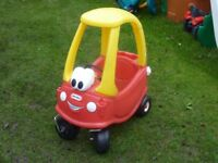 Little Tikes car. VGC