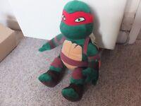 Build a Bear Workshop Raphael Teenage Mutant Ninja Turtle TMNT 17 in. Stuffed Plush