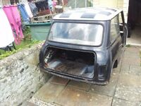 Classic Mini Shell with Doors