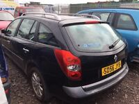 Renault Laguna Diesel 2006 year - Spare Parts Available