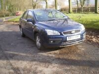 Ford Focus 2 litre petrol Ghia 4 door saloon 2006 (55 reg)..