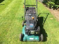 "Petrol 18"" rotary lawn mower"