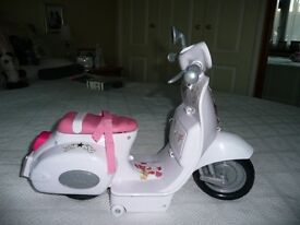 "Dolls scooter ""baby born""(childs toy)"