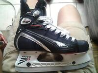 Mission Fuel AGX skates size 5 EE great condition used 3 games!
