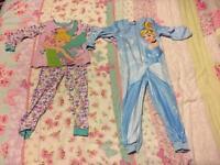 Age 5-6 pjs and onesie