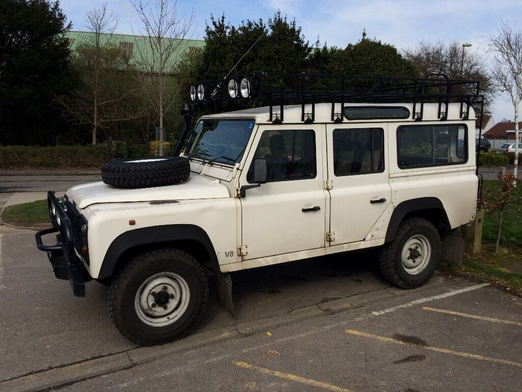 land rover defender 110 station wagon v8 in hayling island hampshire gumtree. Black Bedroom Furniture Sets. Home Design Ideas