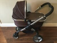 iCandy Peach Pushchair, carrycot and maxicosi car seat