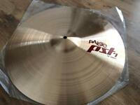 "Paiste PST7 18"" crash cymbal"
