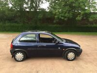 VAUXHALL CORSA 1.2 CLUB BLUE POWER STEERING ELECTRIC WINDOWS 12 MONTHS MOT NO ADVISORIES