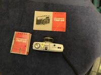Olympus Trip 35 camera and case