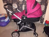 Mothercare pushchair/stroller and car seat