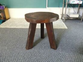 milking stool.