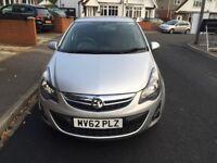 Vauxhall Corsa SXI 5 door hatchback 1.2 petrol 2 previous owners 8 Month MOT