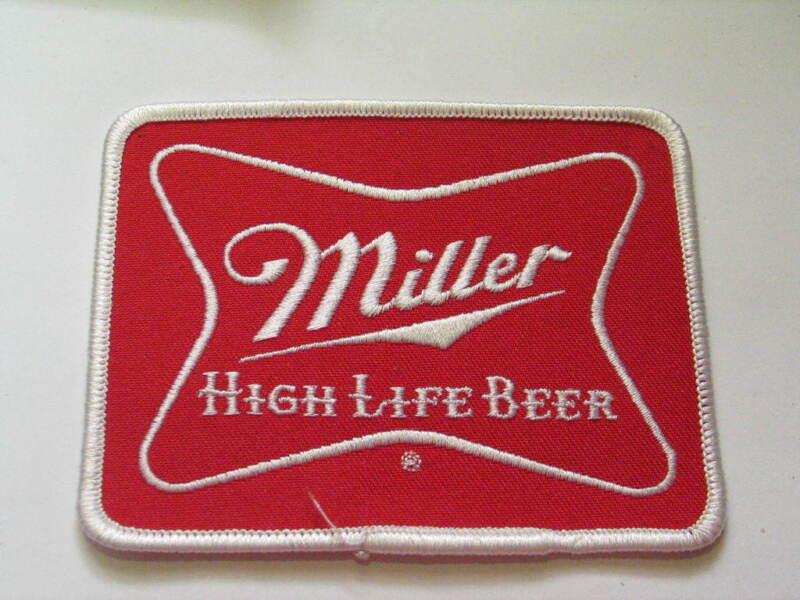 Miller High Life Beer Patch