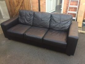 Ikea Vimle 3 seat sofa - Farsta Black
