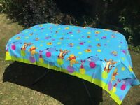 Deeko Disney plastic Table Cover Whinnie the Pooh