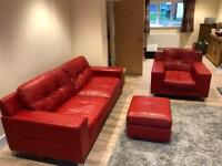 Sofa, Armchair and storage foot stall