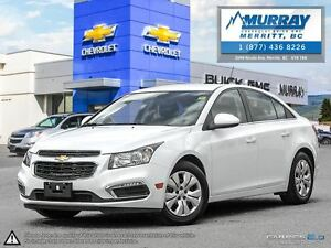 2015 Chevrolet Cruze LT**Bluetooth, Keyless Entry, Cruise Contro