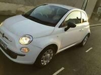 Fiat 500 pop 3dr white low miles
