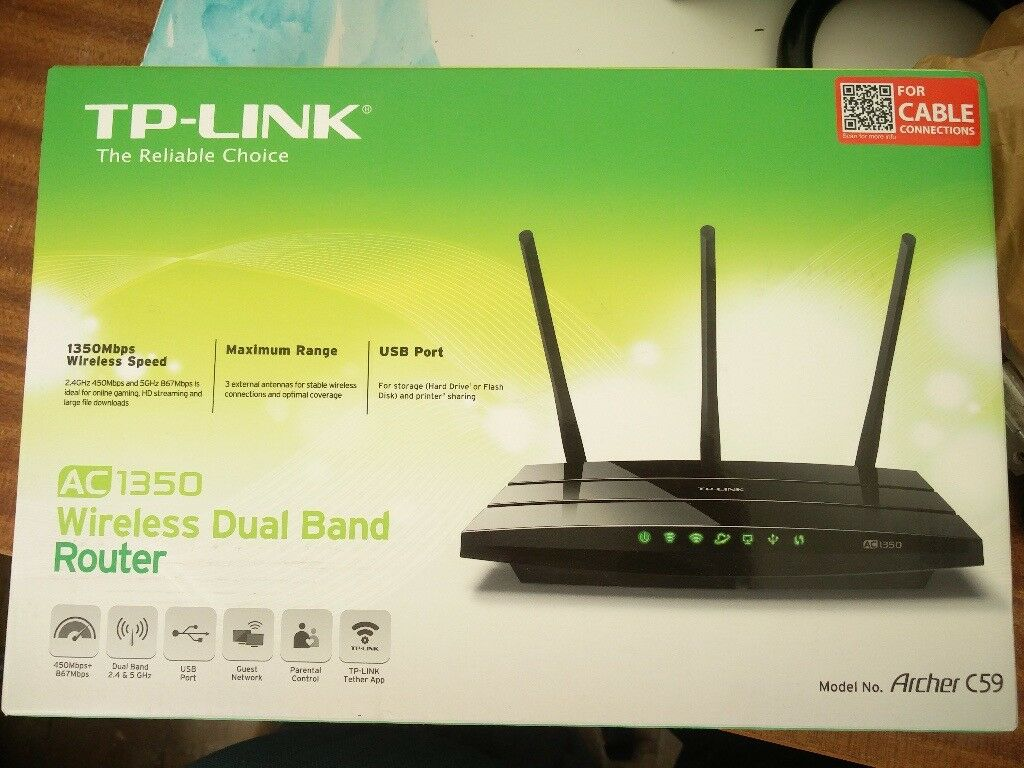 Tp Link Tl Pa7020 Av1000 2 Port Gigabit Powerline Home Plugs Wr940n Wireless Router 450mbps Dual Band Ac1350