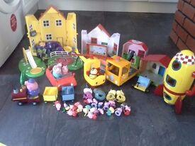 Huge Bundle of Peppa Pig Items / Toys