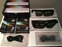 Universal 3D Bluetooth Glasses (x2)