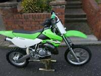 Kawasaki KX 65 Motorcross bike