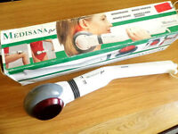 Medisana Duo Infrared Hand Massager (Portable) Boxed with Instructions.