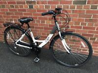 As new Elyse Hybrid Ladies Bike