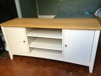 John Lewis TV stand - Wood, excellent condition