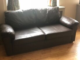 Leather Sofa For Sale In Good Condition
