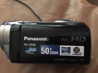 Panasonic V500 video camera like new condition