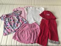 JoJo Maman Bebe Girls Clothes Bundle Age 3-4