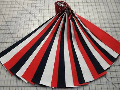 Jelly Roll Red  White   Blue Patriotic Theme Kona Cotton 21 2 1 2  X 44  Strips
