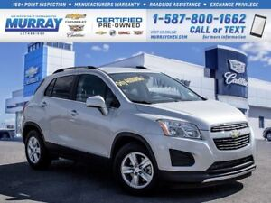 2014 Chevrolet Trax 1LT**Low kms!  One Owner!**
