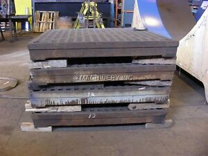 Acorn welding tables used section of 5' x 5' x 5-7 inch thick West Island Greater Montréal image 2
