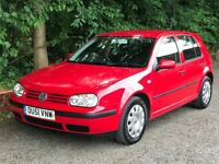 VW GOLF 1.9 TDI F.S.H FULL MOT 2 OWNER EXCELLENT CONDITION