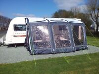 Caravan Inflatable Awning - Outdoor Revolution Compact AirLite 420